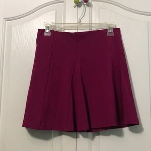 A-Line, flowy, mini skirt